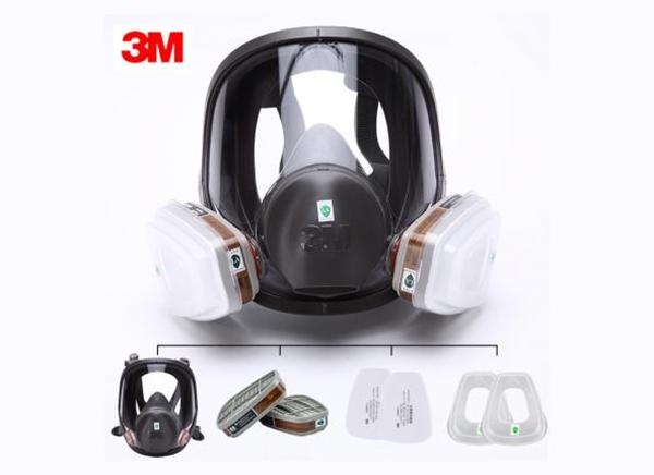 3M 7502自吸过滤式防毒面具(半面罩)