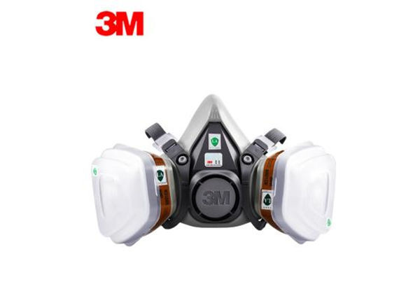 3M 6200自吸过滤式防毒面具(半面罩)