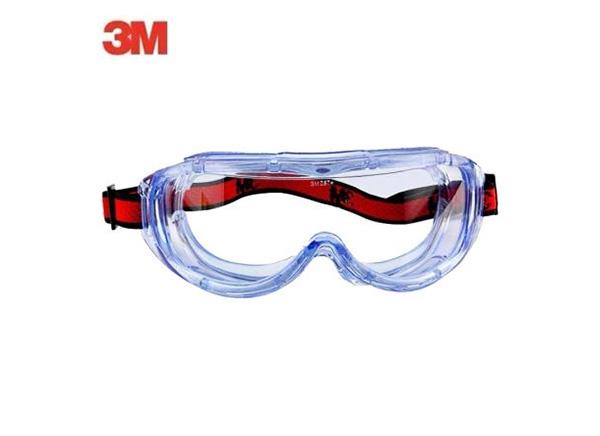 """3M 1623AF""""亚洲款""""舒适性防化学护目镜"""