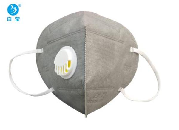 白莹9521V防颗粒物呼吸器(耳戴式带呼气阀)